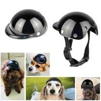 Ropa para perros Casco de motocicleta PET con cojín de protección Cap Party Tocado Disfraz Funny Po Props Proteger Supplies Accesorios
