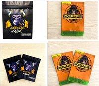 2021 500mg California 3.5g Mylar Bolsos Oler Proof Gorilla Glue Zipper Bag Flower Packaging Package