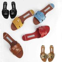 ZA sandals women's flat bottom summer leather cross decoration flat-heeled women's sandals wine red lazy slippers women 210903