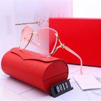 Diseñador Gafas de sol Mujer Gafas de sol de lujo Marca de moda para mujer gafas Conducción UV400 Adumbral con caja y logotipo de alta calidad Nuevo Caliente