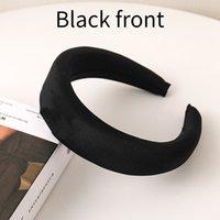 Brand Designer Stirnbänder Schwarze Front Luxury Light Hair Bands Für Frauen Mädchen Elastische Schöne Stirnband Sport Stirnband Kopf Wrap Schmuck 001