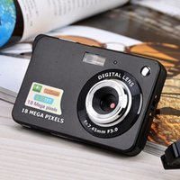 디지털 카메라 HD TFT LCD 디스플레이 비디오 카메라 18MP 720P 8X 줌 방지 흔들어 캠코더 CMOS 2.7 인치 마이크로 카메라 비디오 드롭 우주선