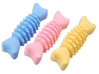 Fabrikverkauf umweltfreundliche Gummispielwaren Hunde Zähne Reinigung PET Hund Kauspielzeug GWA7252