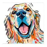 ديكور المنزل الكامل جولة 5d diy الحيوان الماس اللوحة اللبؤة الأسد جرو الكلب خمر زهرة الماس التطريز عبر غرزة التطريز أنماط حجر الراين مجموعات
