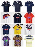 1988 1991 1992 1993 Scotland Retro Soccer Jersey 88 93 MCCoist Bowman McLeish McINally Mo Johnston Vintage Classic Camicia da calcio