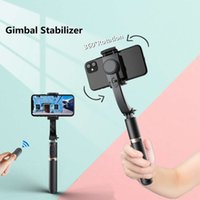 FANGTUOSI Gimbal Stabilizer cellphone Video Record Selfie Stick Tripod With Remote shutter For Action Camera Smartphone