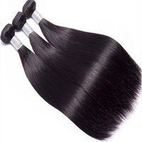 Grade 12A Wholesale Price Silky Straight Virgin Brazilian Human Hair Bundles No Chemical Process Tangle Free For Black Women