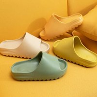 Fashionable V coconut thick soled pair female EVA new shoes fish mouth serrated net red cool slippers male XYM