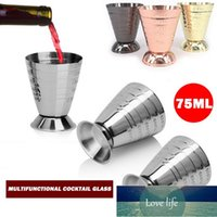 Bar Tools 75ml Measuring Shot Cup Stainless Steel Ounce Cocktail Drink Mixer Liquor Mojito Measure Coffee Mug