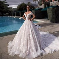 Casual Dresses Luxury A-line Lace For Wedding Party Plus Size 2021 Tassel Sleeve Gorgeous Up Bridal Gowns Robe De Mariage