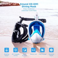 Full Dry Anti-fog Diving Masks 360 Degree Rotatable Snorkel Dive Set With Earplug Camera Mount Adult Youth Outdoor Sea Water Swimming Glass Panoramic View Easy Breath