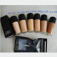 NC15 NC20 NC25 NC30 NC35 NC40 NC40 Fluid Fond De Teint SPF 15M5 مؤسسة سائلة مع مضخة 1