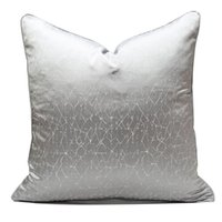 Cushion Decorative Pillow Abstract Cushion Cover High Precision Jacquard House Decor Coussin Decorative Home Luxury Case 45x45