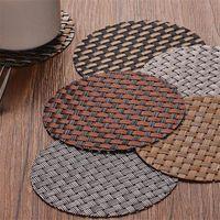Mode PVC Coaster Couchtisch Tasse Matten Pad What Isolation Cup Pads Tischsat Küchenzubehör