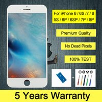 Premium Quality Lcd For iPhone 7 6 6s 7 8 plus Display Touch Screen With 3D touch Display For iPhone 4s 5 5s 5SE Lcd Screen