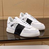 Valentino casual shoes  Çocuk Ayakkabıları Mükemmel Koşucu Kamuflaj Deri Sneakers Erkekler Luxe Moda Stil Kaya Çiviler Açık Camustars Eğitmenler Rahat