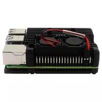 Per Raspberry PI 4 Modello B Caso di alluminio, Custodia protettiva in lega di raffreddamento passivo Custodia per laptop 4b