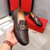 Scarpe formali Designer Designer Scarpe in pelle nera Pelle di alta Qualità Prom Capade da sposa Luxury Fashion Uomo Casual Toe Shoe Shoe Plus Size