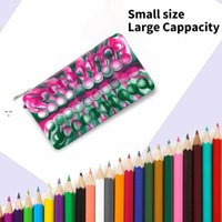 Party Favor Handbag Fidget Toys Push Bubble Squeeze Toy Fashion Stress Relief Bag Adult Holiday Anti-Stress Pencil case OWB10684