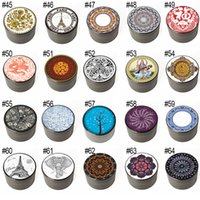 63MM Smoking Accessories Cigarette Colorful Retail Box Metal Grinders Concave Herb Spice Mill Food Crusher 4 LAYERS Zinc Alloy Diamond Shape Style Chamfer Side