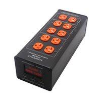 Akıllı Güç Fişleri TP2000US High-end 3000 W Ses Gürültü Filtresi ABD Arıtma LED Gerilim Ekran Socke