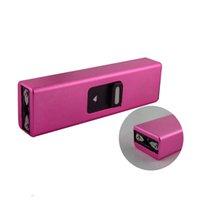휴대용 홈 여성 자기 방어 여성용 학생 USB 충전 키 체인 자기 방어 야외 키 체인 안전