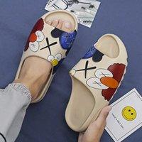 Kanye Men &#039 ;S Platform Slippers Shoes Mens Flop Sandals Beach Flip Flops Outdoor