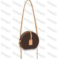 Designer Petite Chapeau Boite mulheres bolsas de ombro bolsas de couro Luxo senhora clássico flores crossbody bolsa m52294 m52293