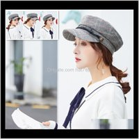 Berets Caps Hats, Scarves & Gloves Fashion Aessorieswoolen Imitation Octogonal Painter Benn Hat Men Cap Beret Winter Hats For Women Vintage