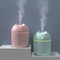 Smart Evaporation Air mini Humidifier Ultrasonic Light Humidifiers USB Car Aromatherapy Essential Oil Diffuser Atomizer Purifier Mist Maker