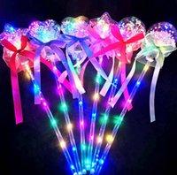 LED 가벼운 스틱 맑은 공 스타 모양 깜박이는 웨딩 파티 장식 어린이 웨딩 파티 장식 어린이 조명 장난감