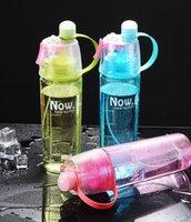 البحول الإبداعية البلاستيك الرياضة في الهواء الطلق رش الأطفال زجاجة المياه هدية طبقة واحدة أكواب مخصصة شعار 600 ملليلتر