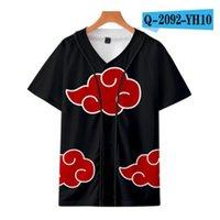 Custom Man Baseball Jersey Buttons Homme T-shirts 3D Printed Shirt Streetwear Tees Shirts Hip Hop Clothes Front and Back Print Good 039