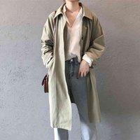 Women's Trench Coats Women Lady Long Coat Q3D2