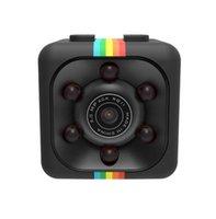 SQ11 Mini Cámara Spy Hidden 1080 CCTV Inicio Seguridad HD HIDDIN ESPIA SENSOR IR VISIÓN NOCHE VISIÓN USB CAMS