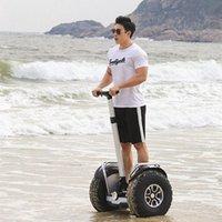 Daibot wasserdicht Leistungsstarker elektrischer Roller Zwei Räder Doppeler Fahrer 60V 2400W Big Reifen Erwachsene Hoverboard mit BT-Lautsprecher GPS