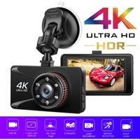 자동차 DVR 카메라 비디오 레코더 Dashcam 주차 모니터 4K 울트라 HD 대시 캠 3 인치 대시 보드 150 ° 광각 IP 카메라