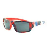 멋진 어린이 스포츠 선글라스 6 위장 색상 라이더 프레임 스타일 소년과 소녀 UV 400 안경
