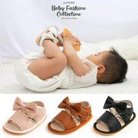 Baby First Walkers Zapatos Niñas Sandalias Sandalias Summer Boys Calzado Infantil Recién Nacido Zapato Mocasines Soft Caminando Arcos Cuero B6929