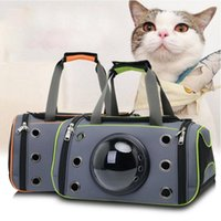 Cat Carriers,Crates & Houses Pet Backpack Travel Carrier Bag Portable Space Breathable Messenger Outdoor Pets Handbag