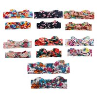 Hair Accessories 2PCS Set Mom Mother & Daughter Kids Baby Girl Bow Headband Band Parent-Child Family Headwear Head Headdres