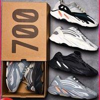 신발 700 실행 OG 솔리드 그레이 남성 여성 카본 블루 Geode 정적 Mauve 트레이너 스포츠 스니커즈 36-46