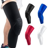 Elbow & Knee Pads 1 Piece Brace For Women Long Volleyball Basketball Leg Sleeve Compression Protector Gear Football Gym