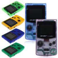 """10pcs GB Boy Colour Color Handheld Game Player 2.7"""" Portable Classic Console Consoles With Backlit 66 Built-in Games Players"""