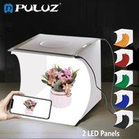 Smart Home Control Puluz Po Studio Box Tabletop Tirage de tir de 8,7 pouces Portable Lightbox Tente Pographie Softbox Kit pour l'affichage des marchandises