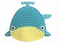 大型の落ち着きのないおもちゃ大きいげっ歯類の管理パイオニアの新しい多色の発光金の粉の大きなサメの減圧