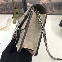 2021 mini mode véritable cuir femme sac à bandoulière lettre sacs à main Changer de portefeuilles classiques Femmes Crossbody Sacs de soirée avec boîte 476432