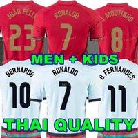 21 22 National Social Ronaldo Soccer Jersey Versão Jerseys Bernardo Home Joao Felix Fãs Quaresma 2021 2022 Danilo Fooball Shirt