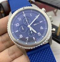 2021 Знаменитые Curtis Eagle Специальный дизайн Зеленый циферблат кварцевые секундомеры Мужские часы Смотреть мужские наручные часы с логотипом и военной группой