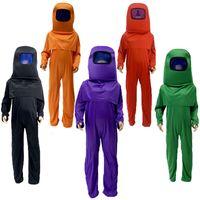 Gioco anime tra Stati Uniti Costume Cosplay tuta Carnevale per bambini Costumi di Halloween Gioco di ruolo Dress up Mask Body Set Knassalack
